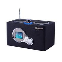 Caixa De Som Dotcell Mini Speaker Usb Dc-s019 Preto