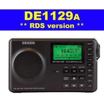Radio Degen De1129 Sw, Mw, Fm Stereo & Mp3 Recording