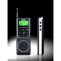 Rádio Degen De1127 Mp3 Player, Am, Fm Stéreo, Sw, Gravador