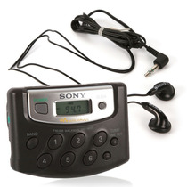 Radio Walkman Sony Am/fm Srf-m37 - Sintonia Digital