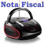 Rádio Relógio Mp3 Player Fm Alarme Usb Pendrive Sd Bluetooth