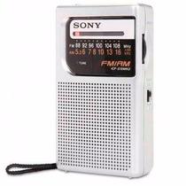Rádio Portátil Sony Icf-s10 Mk2, Am/fm 2 Bandas Am Fm
