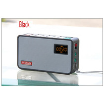 Rádio Tecsun Icr-100 Gravador Mp3 Player Fm 76-108