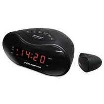 Radio Relogio Powerpack Ra-226 Negro 110/220vl Fm Busca Aut