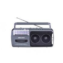 Radio Gravador Toca Fita Sd 3 Faixas 2falantes 600watts Pmpo