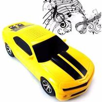 Camaro Caixa Som Carrinho Carro Toca Radio Musica Mp3 Player