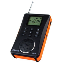 Rádio Degen De26 Am Fm Stéreo Sw Dsp Digital Receiver Mp3