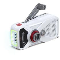 Rádio Am Fm Com Lanterna De Led Recarregavel A Turbina