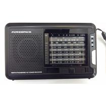 Radio Powerpack Cxtv-9108 - Fm/am/sw1-8/tv Preto