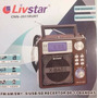 Novo Modelo Rádio Digital Liv Star Fm Am Sw Usb Sd
