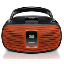 Rádio Portátil Philips, Usb, Am/fm, Display Lcd - Az391x