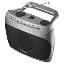 Rádio Portátil Mondial Rp-01 Com Sintonizador De Tv Prata