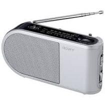 Rádio Sony Am-fm Icf-304 Portatil 2 Pilhas Novos Na Caixa