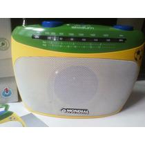 Rádio Portátil Mondial Com Sintonizador De Tv. Fm Stereo