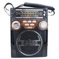 Rádio Portátil Am Fm Sw Usb Pendrive Lanterna Recarregável
