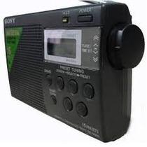 Radio Portátil Digital Sony Am/fm Icf-m260 C/ Memória