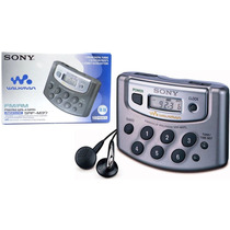 Walkman Sony Srf-m37 Fm Am Rádio Portátil Digital Novo
