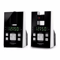 Rádio Relógio Projetor Despertador Alarme Fm, Powerpack 231n