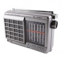 Rádio Motobras Portátil Com 12 Faixas Usb E Sd Card - Rm-pf