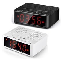 Rádio Relógio Digital Despertador Bluetooth Mp3 Usb Sd