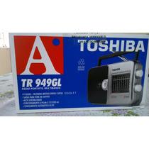 Rádio Portátil Tr949gl Toshiba Multibanda 9 Faixas Novo