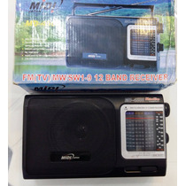 Radio Midi Japan Md-4500 Fm(tv),mw,sw1-9 - 110v Novo