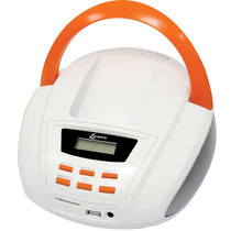 Radio Portatil Lenoxx Bd109 Fm/cd/mp3/usb/3,5w Rms Bivolt