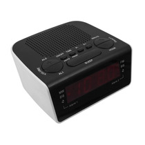 Rádio Relógio Am/fm - Display Led Motobras Rm-rrd21 Bivolt