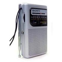 Rádio Portátil Bolso Original Sony Aa Pilhas Am Fm Icf-s10mk