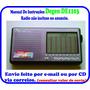 Manual De Instruções Rádio Degen 1103