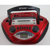 Rádio Portatil Livstar Cnn-2885ru