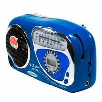 Mini Radio Portatil Livstar Tv-2019a Am/fm/tv A3055