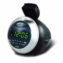 Rádio Relógio Fm Com Projetor Rf-233 Powerpack
