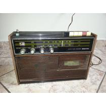 Rádio De Mesa Antigo Bigston Japan Único Coleção