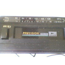 Antigo Rádio De Carro Precision Pcs 110 Na Caixa Funcionando