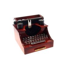 Caixa De Música Maquina De Escrever Retrô