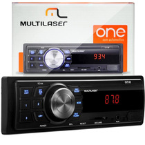 Radio Mp3 Usb Sd Aux Carro Automotivo Multilaser One