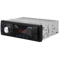 Rádio Mp3 Automotivo Usb Sd Silver Multilaser P3208
