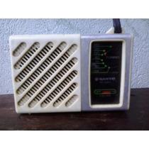 Radio Antigo Portatil Sanyo Rp 1250 De Bolso Funcionando