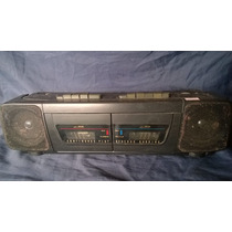 Rádio Gravador Toca Fita Antigo Cce Bivolt Funcionando