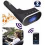 Transmissor Fm Veicular Usb Sd Bluetooth Exclusivo 1ª Linha