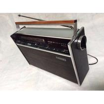 ***** Rádio Portátil Philco Transglobe - B-481 Impecavel 70s