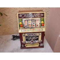 Antigo Lindo Radio Portatil Am/fm Tipo Maquina Caça Niquel