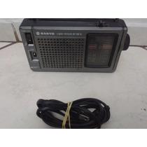 Rádio Portátil Sanyo Em Excelente Estado Em Guarulhos S.p.
