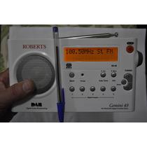 Rádio Sony Roberts Gemini Rd49 Fm (inglaterra)