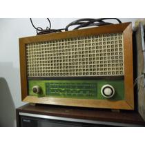 Rádio Am Antigo De Madeira Valvulado Testado E Funcionando