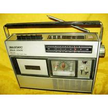 Radio Relogio Cassete Imasonic 555,funcionando,ótimo,bonito