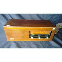Rádio De Madeira Antigo Diplomata Frahm
