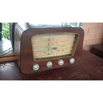 Radio Capelinha Antigo Semp Pt 76 Madeira Funcionando