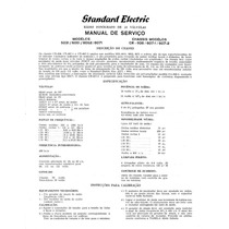 Standard Electric Esquemas E Diagramas
